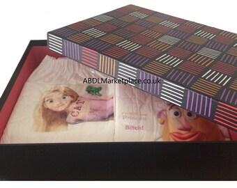 Custom Designed Adult Diaper Set (Adult Nappy)