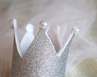 Bridal Shower/Bachelorette Party Crown with veil