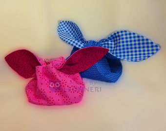 Easter baskets with floppy ears to the binding down silo, Easter basket, strap bag