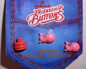 Hallmark Friendship Button Bubbles the Whale