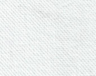 Jersey white Modal, background pattern