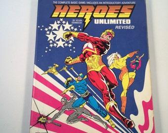 Heroes Unlimited RPG Complete Game Vintage 1990 Kevin Siembieda Introductory Adventures