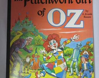 Giant Wizard of Oz Patchwork Girl Coloring Book