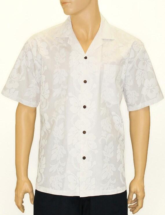 authentic hawaiian men 39 s hibiscus wedding shirt by