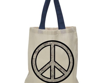 Peace Tote Shopper