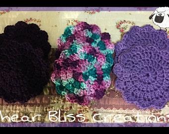 Crochet Cotton Coasters