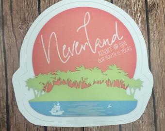 Neverland Resort & Spa Vinyl Decal Sticker