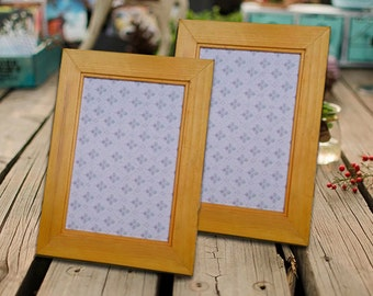 Photo Frame Picture Frame Wedding Frame Wood Frame Shabby Chic Rustic
