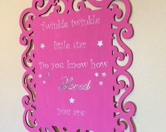 Kids room sign