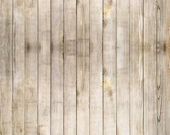 Newborns baby Photography Backdrop-Weathered White Painted Wood Floor Photo Backdrop – Peeling White Wood Plank Floor Drop BG-236