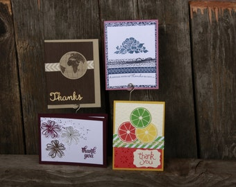 Thank You Sampler- Handmade cards- Free Shipping