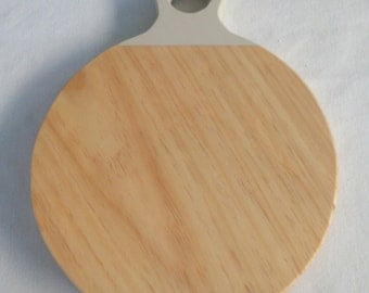 Table round of wood