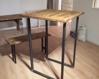Industrial chic metal table legs