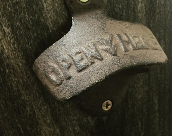 Hand Made Bottle Opener