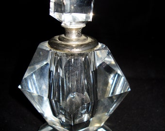 Glass/chrystal Perfume Bottle
