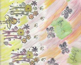 background page for journls, mixed media, or any kind of paper craft