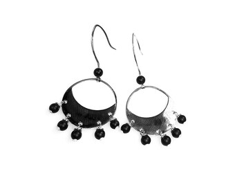 Earrings 925 sterling silver Artisan 211