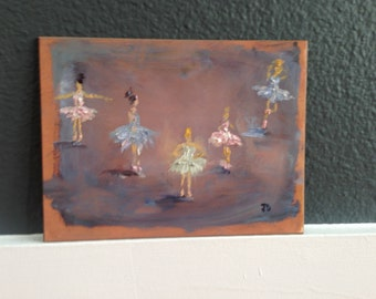 Tiny Dancers Oil Painting