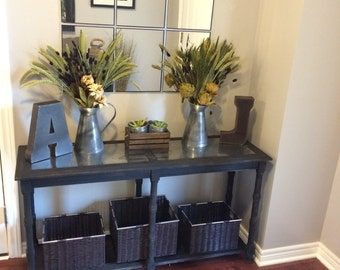 SOLD ..CONSOLE TABLE