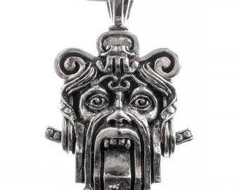 "Sterling silver pendant series ""Art Nouveau Riga"", model Nr.5."