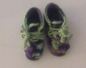 Items similar to Baby shoes Chanel sequines on Etsy