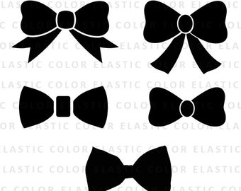Bow svg file collection - bow clipart digital download svg, eps, dxf , png