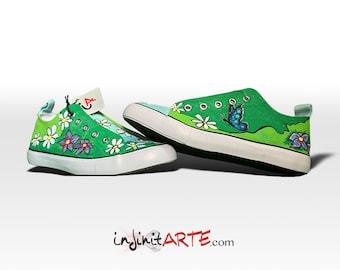 Custom handpainted Spring & Summer shoes