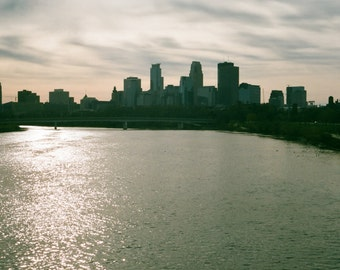 Minneapolis Skyline - Film Photography Print