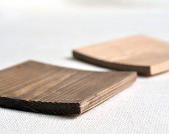 Set of tiny trays / wooden coasters / spoon rests
