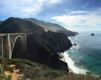 Spectaculr View of Bixby Bridge
