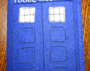 Passport cover TARDIS