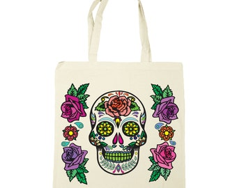 Design Your Own Tote Bag - Sugar Skull