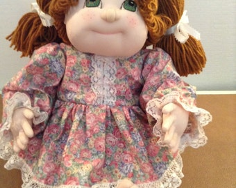 Cabbage patch style doll