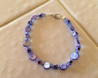 Lovely Purple Bracelet