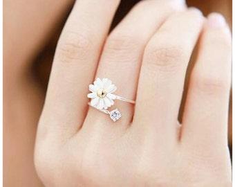 Daisy Flower Ring