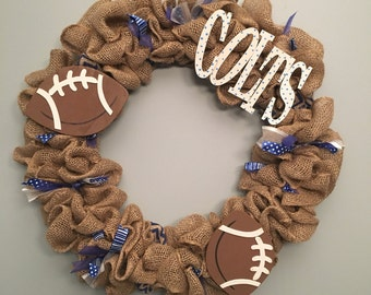 Football Wreath