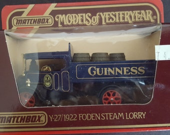 10% New Year discount Set of 3 Models of Yesteryear foden Steam Lorries