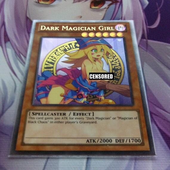 Sexy dark magician girl nude