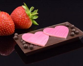 25 Petit Coeur Chocolate Bars