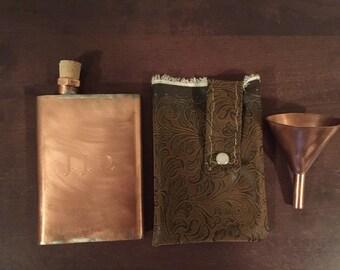 Copper Flask