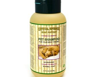 Pet Shampoo, Nourishing Pet Shampoo, Normal Coat Shampoo, All Natural Pet Shampoo, Vegan Pet Care, Natural Dog Shampoo