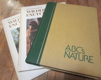 wildlife encyclopedia, nature book, plants and animals, education