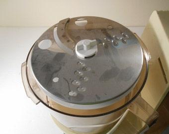 Vintage Sears Counter Craft Countercraft Food Processor