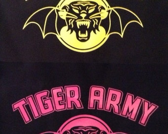 TIGER ARMY back patch