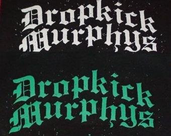 DROPKICK MURPHYS logobback patch