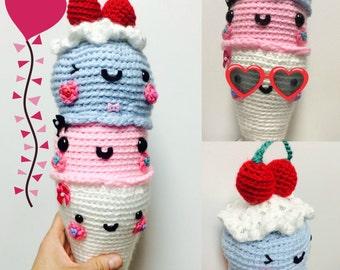 I Scream for Ice Cream Amigurumi
