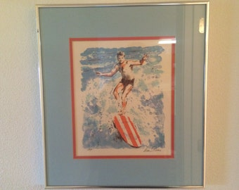 Set 3 Signed Prints by California Listed Artist William Sloan and Rowney
