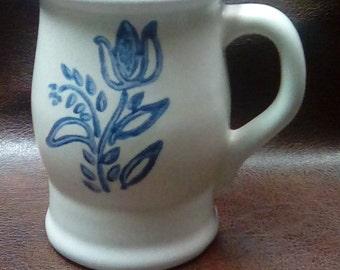 Pfaltzgraff 202y Mug Blue Tulip