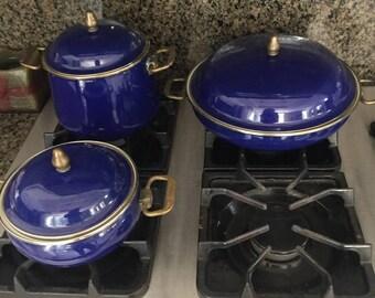 Vintage Newcor Sculpture Gourmet Cookware