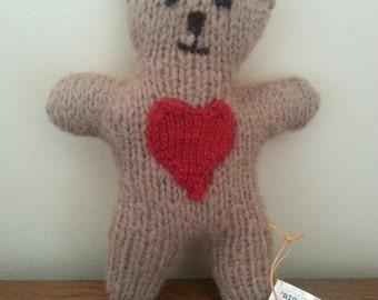 Big Hearted Handmade Teddy